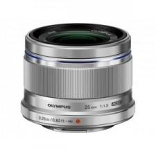 Olympus M.Zuiko Digital 25mm 1:1.8 / Es-M2518 Silver - Obiectiv Foto Mirroless