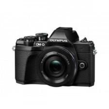 Olympus E-M10 Mark III, Pancake Zoom, 16.1Mp, Black - Aparat foto mirrorless