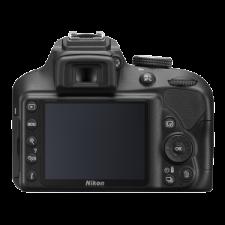 Nikon D3400 Kit AF-P 18-55mm VR (black) - Aparate foto DSLR