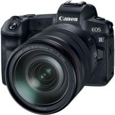 Canon EOS R + RF 24-105mm f/4L IS USM + EF-EOS R adaptor